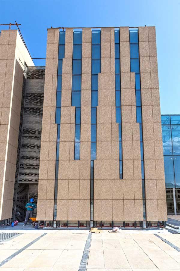 عکاسی پانوراما،عکاسی از نمای ساختمان