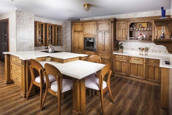 عکاسی تبلیغاتی از کابینت آشپزخانه
