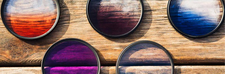 فیلتر رنگی برای عکاسی